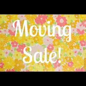 MOVING SALE‼️